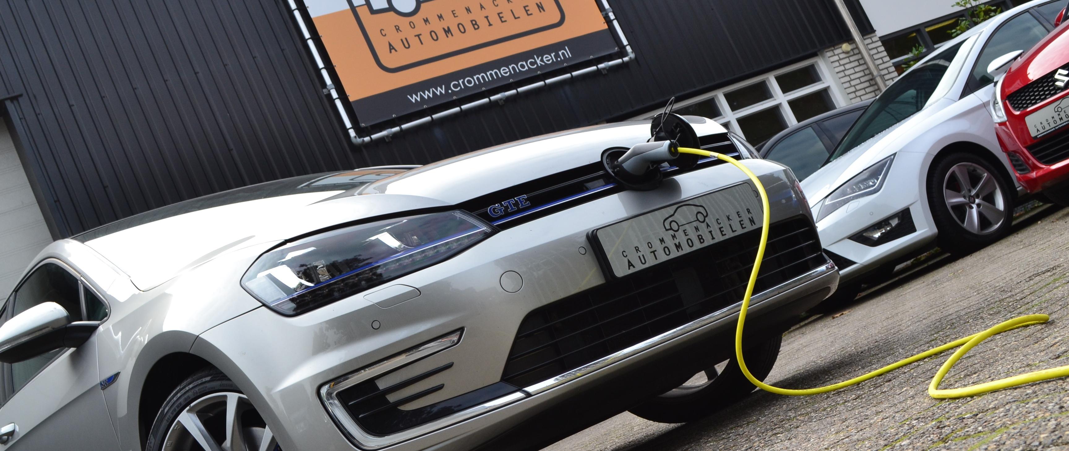 elektrische auto hybride Golf GTE Crommenacker