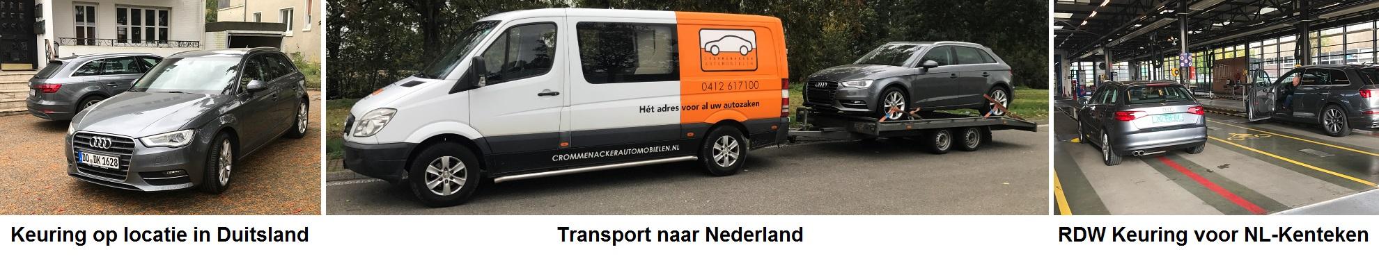 Import Auto Importeren